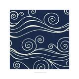 Ocean Motifs III Kunstdrucke von Erica J. Vess