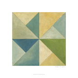 Quilted Abstract I Giclee Print by Megan Meagher