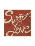 Sweet Love Print by Chariklia Zarris