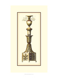 Antique Candlestick III Prints by  Vision Studio