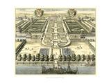Formal Garden View IV Poster von Erich Dahlbergh