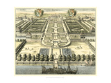 Formal Garden View IV Giclee Print by Erich Dahlbergh