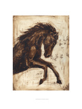 Weathered Equestrian II Giclee Print by Ethan Harper