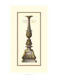 Antique Candlestick IV Print by  Vision Studio