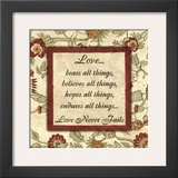 Words to Live By: Love Art by Debbie DeWitt