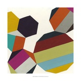 Poly-Rhythmic II Poster von Erica J. Vess