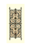 Printed Wrought Iron Panels I Giclee Print by Vision Studio