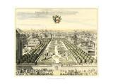 Formal Garden View I Reproduction giclée Premium par Erich Dahlbergh