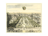 Formal Garden View I Giclee Print by Erich Dahlbergh