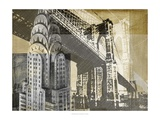Metropolitan Collage I Print by Ethan Harper