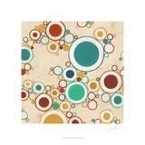 Molecular Landscape I Poster by Erica J. Vess