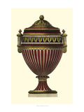 Empire Urn II Print by  Vision Studio