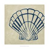 Indigo Shell III Posters by Chariklia Zarris