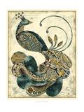 Königlicher Pfau I Kunst von Chariklia Zarris