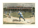 National League Game 1886 Plakater af  Snyder