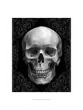 Glam Skull Print by Ethan Harper