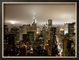 Chrysler Building and Midtown Manhattan Skyline, New York City, USA Framed Photographic Print by Jon Arnold