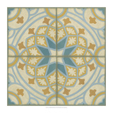 No Embellish* Old World Tiles I Giclee Print by Chariklia Zarris
