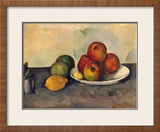 Still Life with Apples, C.1890 Framed Giclee Print by Paul Cézanne