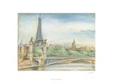 Parisian View Giclee Print by Ethan Harper
