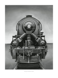 Vintage Train Giclee Print by Ethan Harper