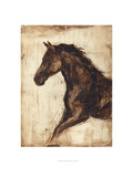 Weathered Equestrian I Posters by Ethan Harper