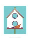 Home Tweet Home III Poster by Erica J. Vess