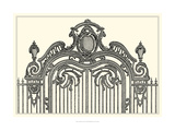 Antique Briseux Gate II Giclee Print by Vision Studio