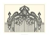 Antique Briseux Gate II Giclee Print by Vision Studio