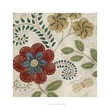 Valentine Tapestry I Prints by Chariklia Zarris