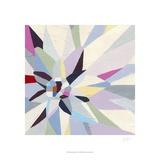 Geometric Dahlia I Kunstdrucke von Erica J. Vess