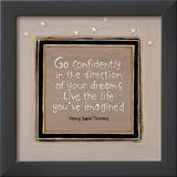 Go Confidently Prints by Karen Tribett