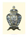 Blue Porcelain Vase I Plakater af Vision Studio