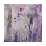 Dusty Violet II Print by Jennifer Goldberger