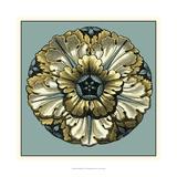 Floral Medallion V Poster by Vision Studio