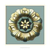 Floral Medallion VI Prints by  Vision Studio