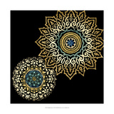 Midnight Rosette I Giclee Print by Chariklia Zarris