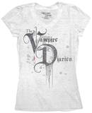 Juniors: The Vampire Diaries - Dripping T-Shirts