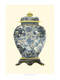 Blue Porcelain Vase II Posters af Vision Studio