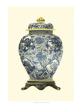 Blue Porcelain Vase II Prints by Vision Studio
