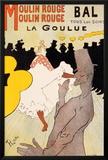 Moulin Rouge, ca. 1891 Lámina por Henri de Toulouse-Lautrec