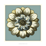 Floral Medallion I Giclee Print by Vision Studio