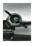 Ethan Harper - Vintage Flight III - Poster