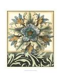 Panelled Rosette II Giclee Print by Jennifer Goldberger