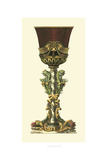 Elongated Goblet I Giclee Print by Giardino Giovanni