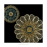 Midnight Rosette II Giclee Print by Chariklia Zarris