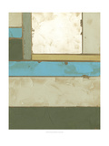 Weathered Paneling II Posters by Jennifer Goldberger
