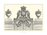 Antique Briseux Gate I Giclee Print by Vision Studio