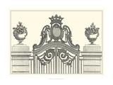 Antique Briseux Gate I Giclee Print by Vision Studio