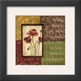 Spice 4 Patch: Where There is Hope Prints by Debbie DeWitt